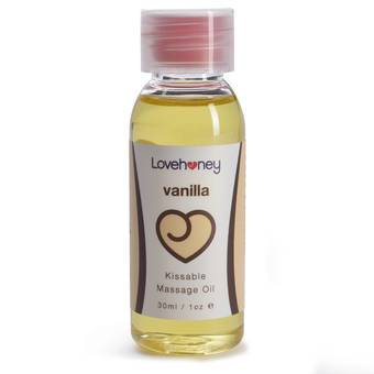 Lovehoney Vanilla Flavour Edible Massage Oil