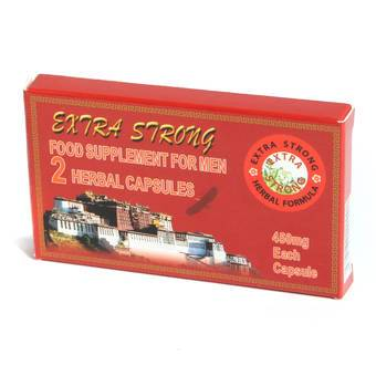 Extra Strong Herbal Performance Enhancing Capsules for Men (2 Pack)