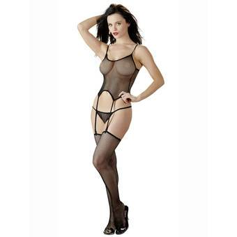 Mandy Mystery 3-Piece Fishnet Body Set