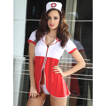 Livia Corsetti Efrosini Sexy Nurse Uniform Set
