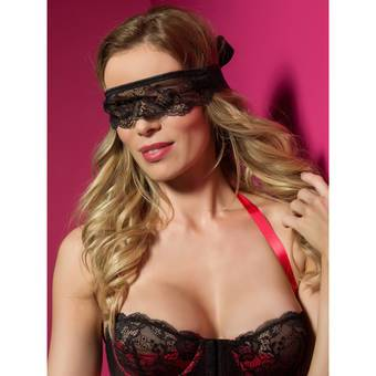 Lovehoney Lace & Satin Blindfold