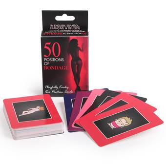 50 cartes positions de bondage