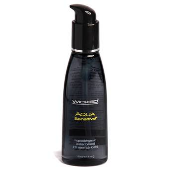 Wicked Sensual Aqua Sensitive Intimate Lubricant 120ml