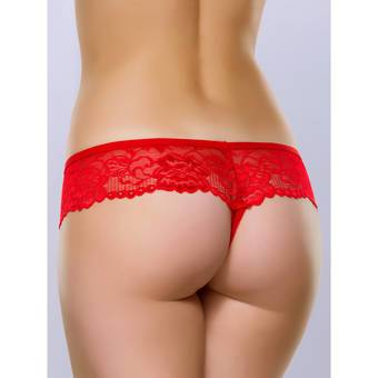 Lovehoney Flirty Red Lace Thong