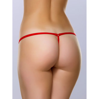 Lovehoney Flirty Red Lace G-String