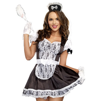 Costume de soubrette coquine Maid For You par Dreamgirl