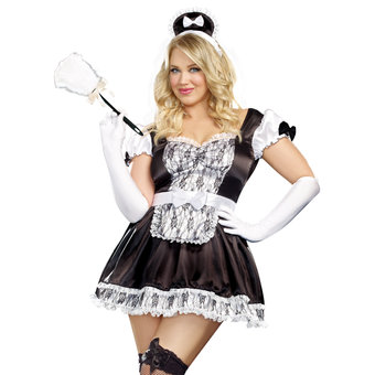 Costume de soubrette coquine grande taille Maid For You par Dreamgirl