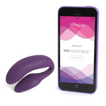 We-Vibe 4 Plus App Only Smartphone Control Clitoral and G-Spot Couple Vibrator