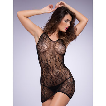 Lovehoney Racer Back Lace Mini Dress