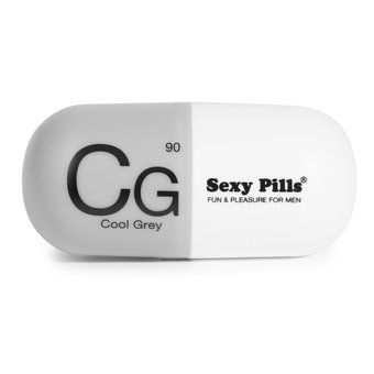 Love to Love Sexy Pills Cool Grey Tickler Male Masturbator