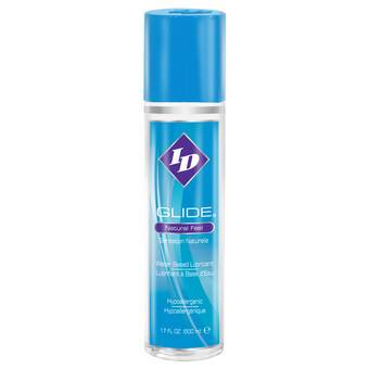 ID Glide Water-Based Lubricant 500ml 17 fl. oz