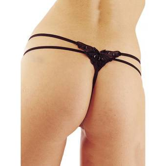 Classified G-String mit Schmetterling