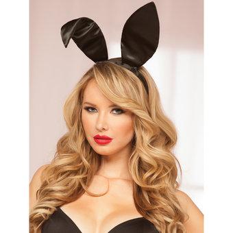 Seven Til Midnight Satin Bunny Ears