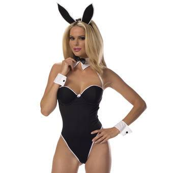 Escante 5-Piece Underwired Sexy Bunny Costume