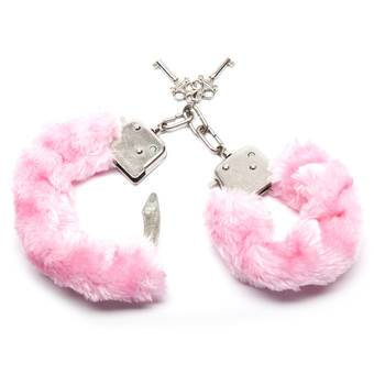 Lovehoney Tease Me Pink Furry Handcuffs