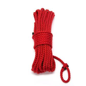 DOMINIX Deluxe 10m Silky Bondage Rope Red