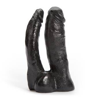 Doc Johnson Code Black Vac-U-Lock Double Penetrator Dildo