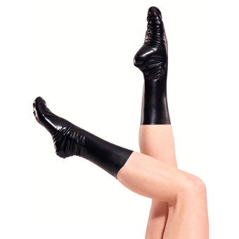 Rubber Girl Latex Socks Unisex