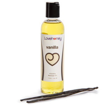 Lovehoney Lovers Vanilla Lickable Massage Oil 113ml