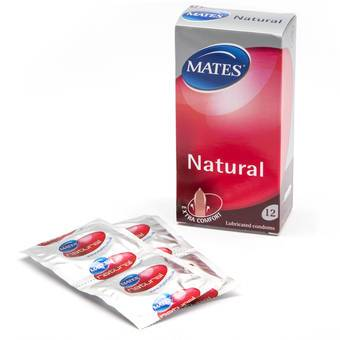 Mates Natural Condoms (12 Count)
