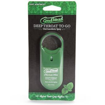 Doc Johnson Good Head Deep Throat TO-GO Spray 0.3 fl. oz