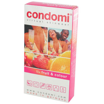 Condomi Fruit Condoms (9 Pack)