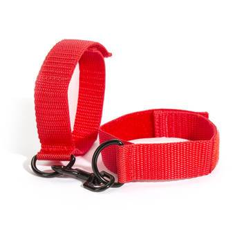 Lovehoney BASICS Bondage Red Wrist Cuffs