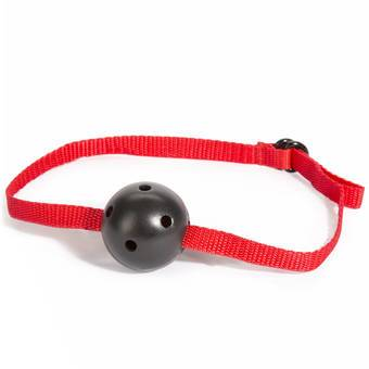 Lovehoney BASICS Bondage Red Ball Gag