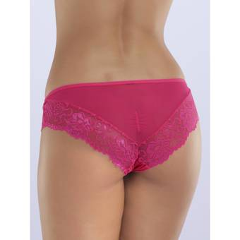 Lovehoney Flirty Pink Lace and Mesh Knickers