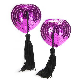 Lovehoney Sequin Nipple Tassels Pink