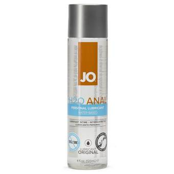 System JO H2O Water-Based Anal Lubricants 120ml