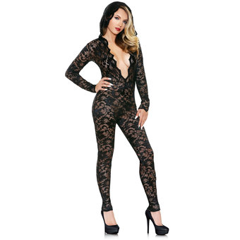 fantasy-romp-sexy-lace-hooded-catsuit