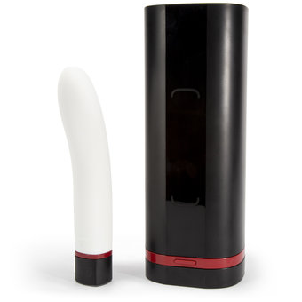 Kiiroo Connect Onyx Male Masturbator and Pearl Female Vibrator Set