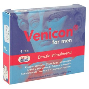 Venicon For Men Erection Stimulator (4 Capsules)