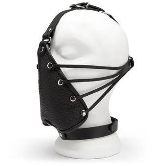 DOMINIX Deluxe Leather Head Harness with Face Muzzle