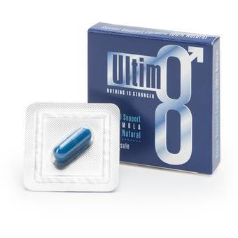 Ultim8 Blue Sexual Support Formula for Men (1 Capsule)