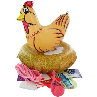 Inflatable Hen Night Hat