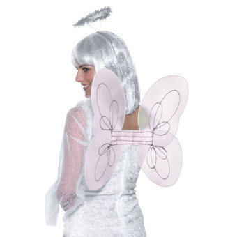 Hen Party Angel Wings and Halo Set