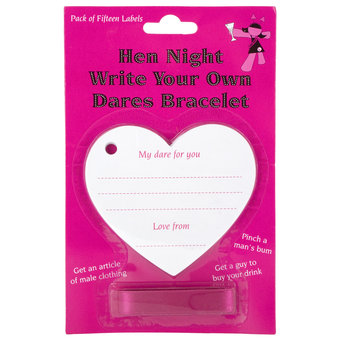 Hen Night Dares Bracelet