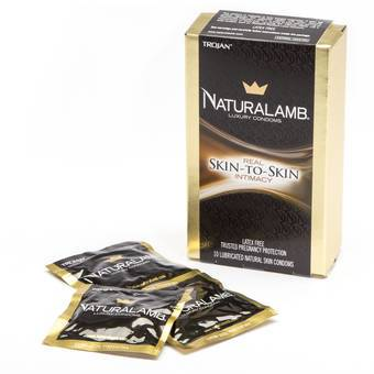 Trojan Naturalamb Non Latex Condoms (10 Pack)
