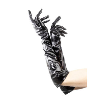 Fever Patent Unisex Black Gloves