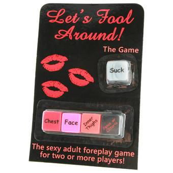 Let's Fool Around Sex Dice