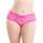 Oh La La Cheri Curves Plus Size Floral Lace Crotchless French Knickers
