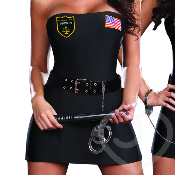 Dreamgirl reversible crimes and miss demeanours costume sexy cop