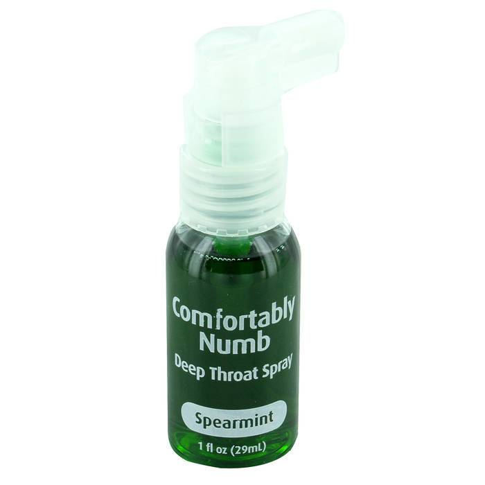 Comfortably numb deep throat spray reviews