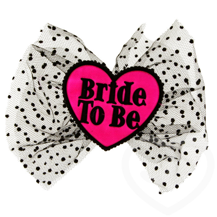 Miss-Chief Bride to Be Hair Bow