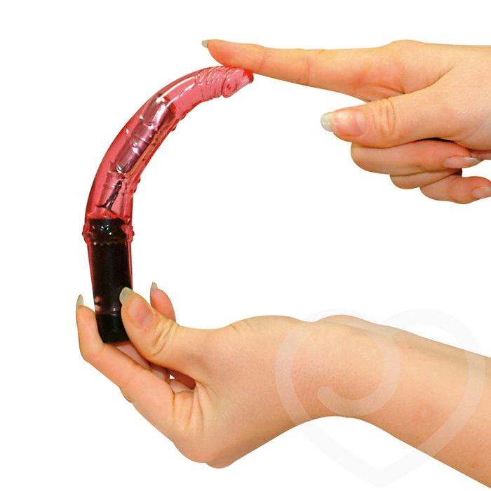 Vibrator und geschwollene Nippel