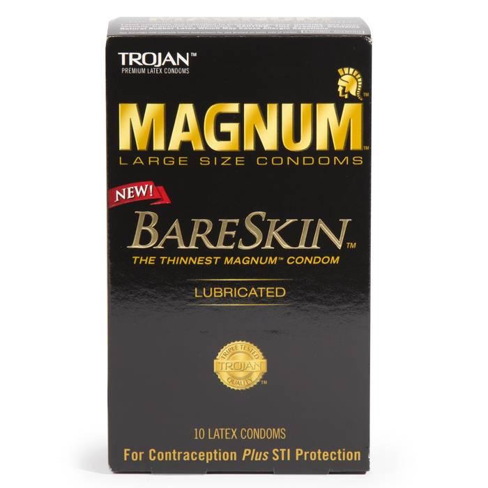 Trojan Magnum BareSkin-Kondome 10er Packung