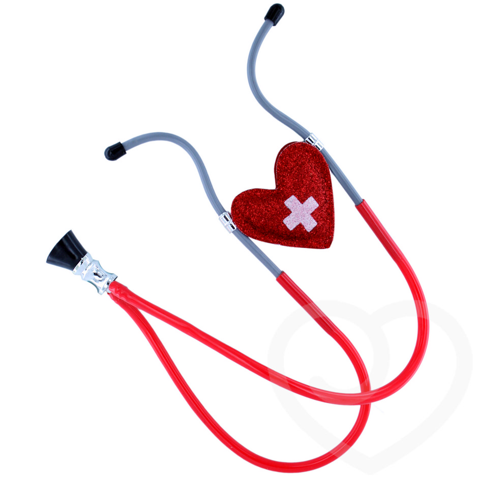 Red Heart Nurse Stethoscope