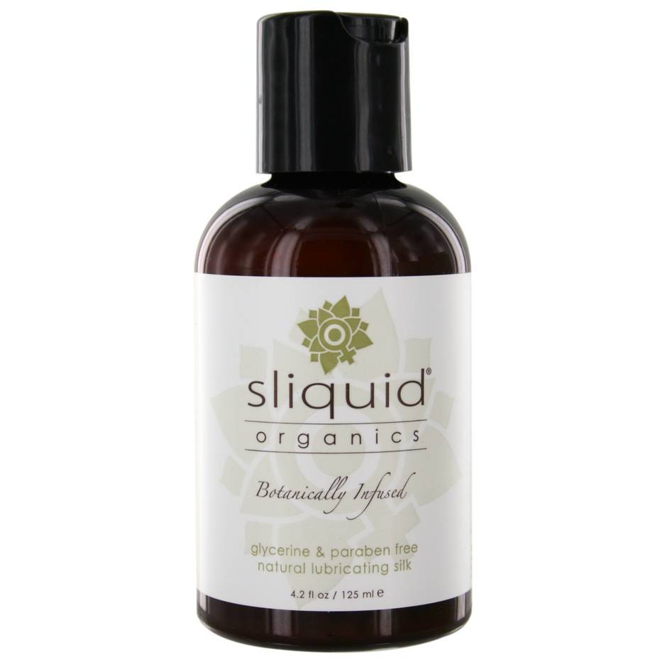 Sliquid Organics Natural Silk Lubricant 125ml